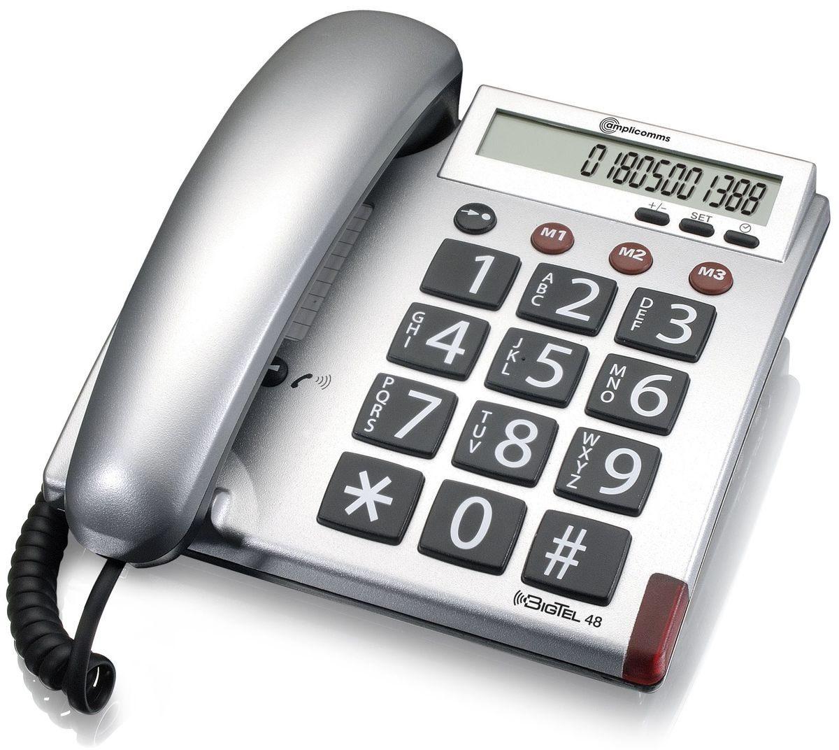 amplicomms Großtastentelefon »BigTel 48«