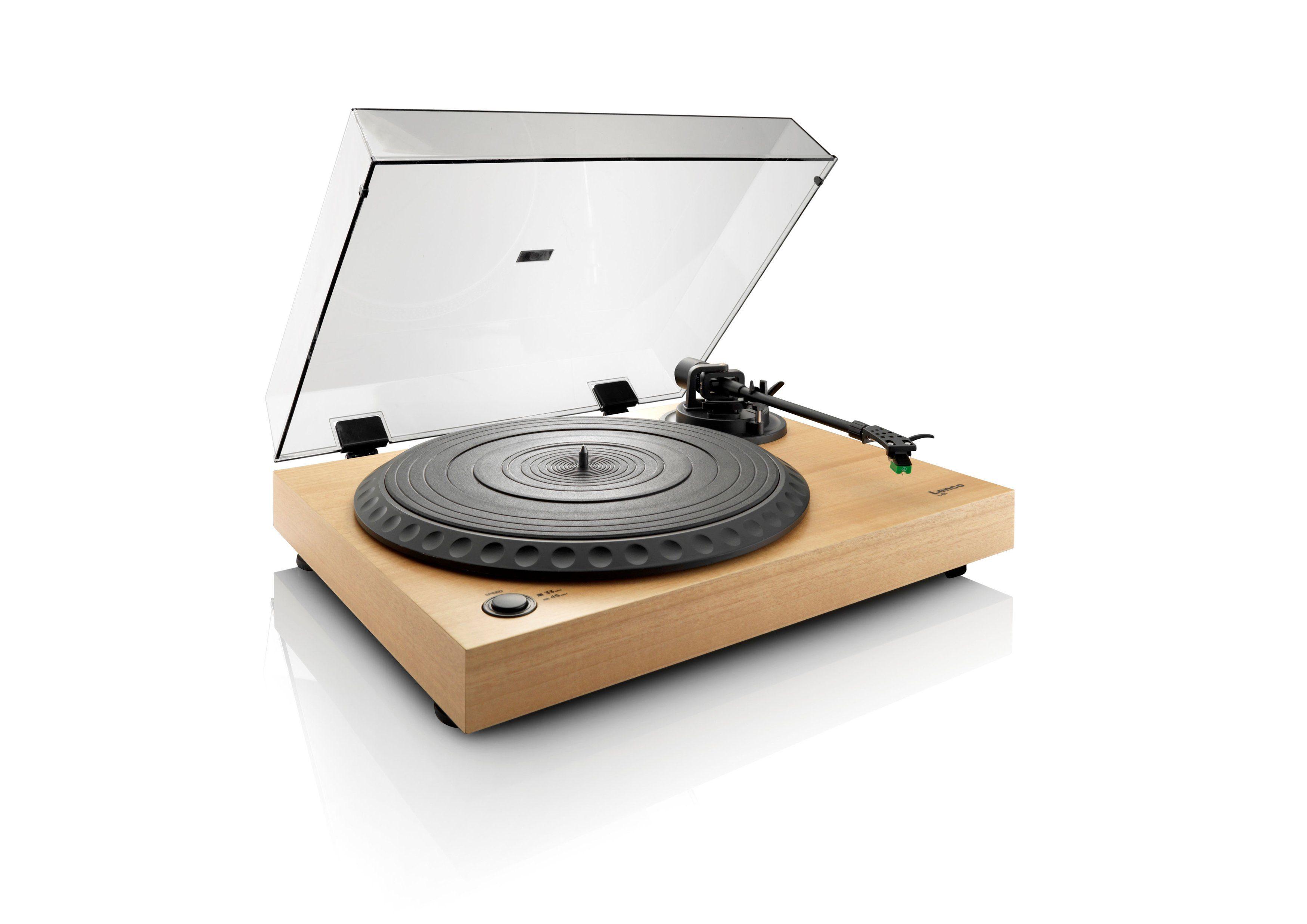Lenco Plattenspieler mit Vorverstärker »L-91«