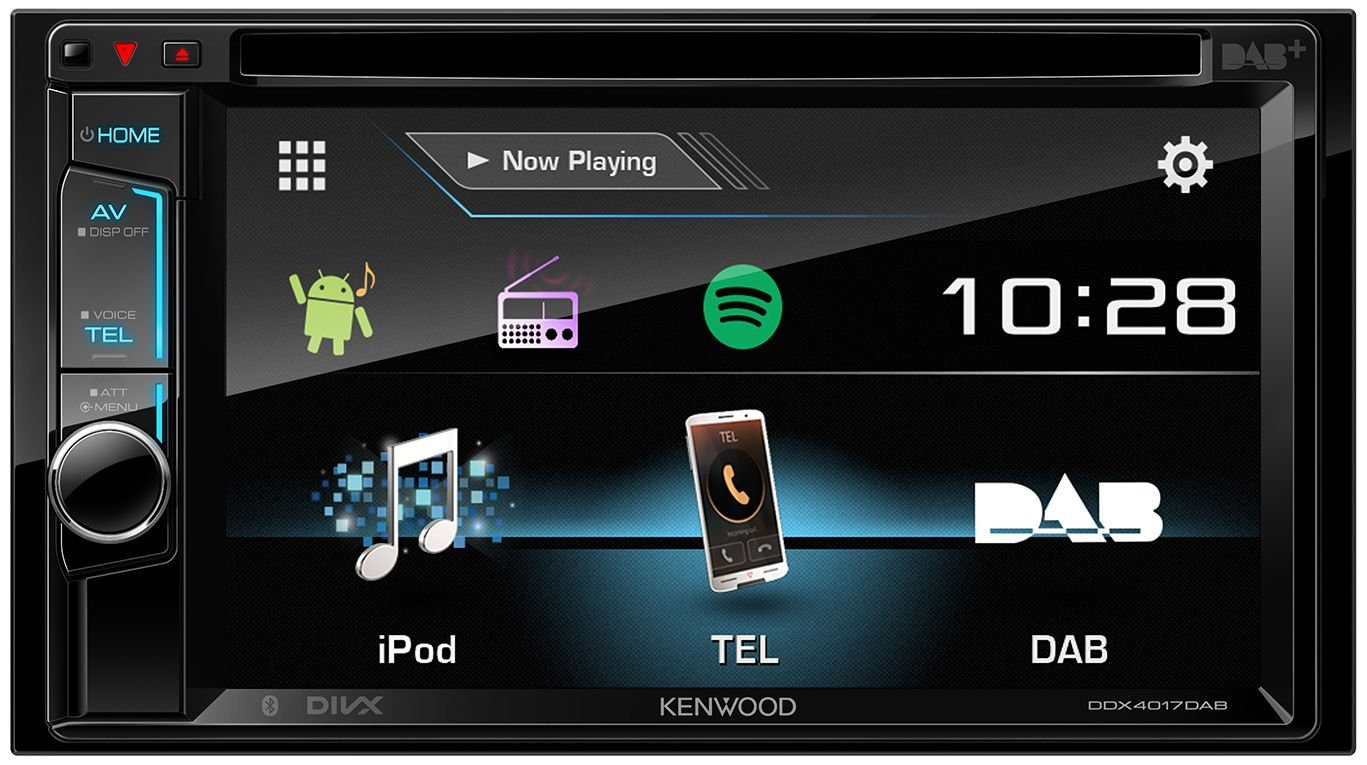 Kenwood 2 - DIN Multimedia-Receiver mit Bluetooth »DDX-4017DAB«