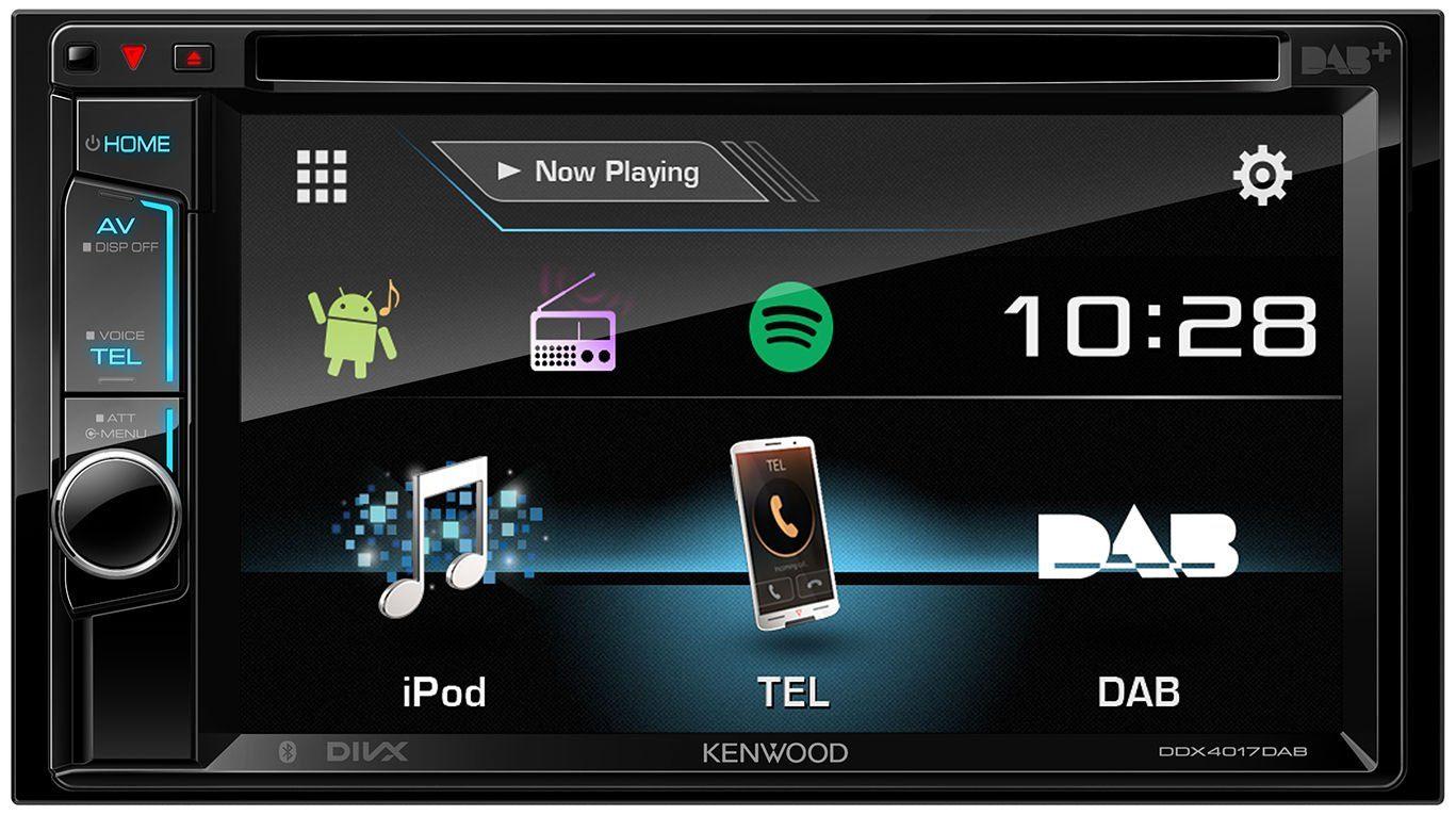 Kenwood 2 - DIN Multimedia-Receiver mit Bluetooth »DDX-4017DAB«