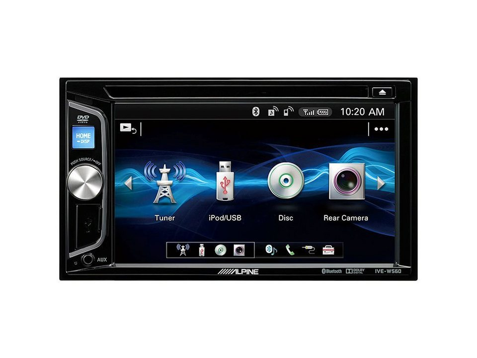 Pioneer car audio system with bluetooth and usb 3