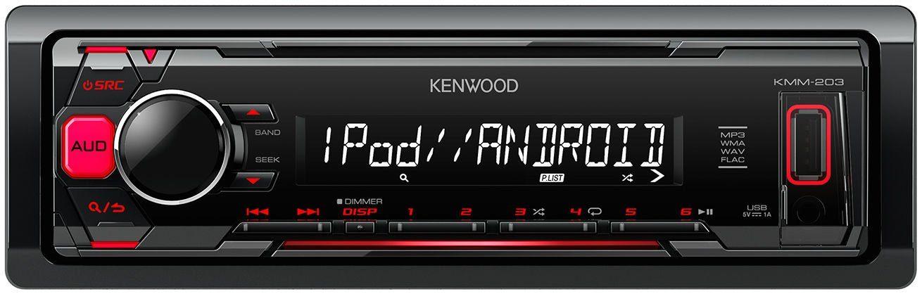 Kenwood 1-DIN Autoradio »KMM-203«