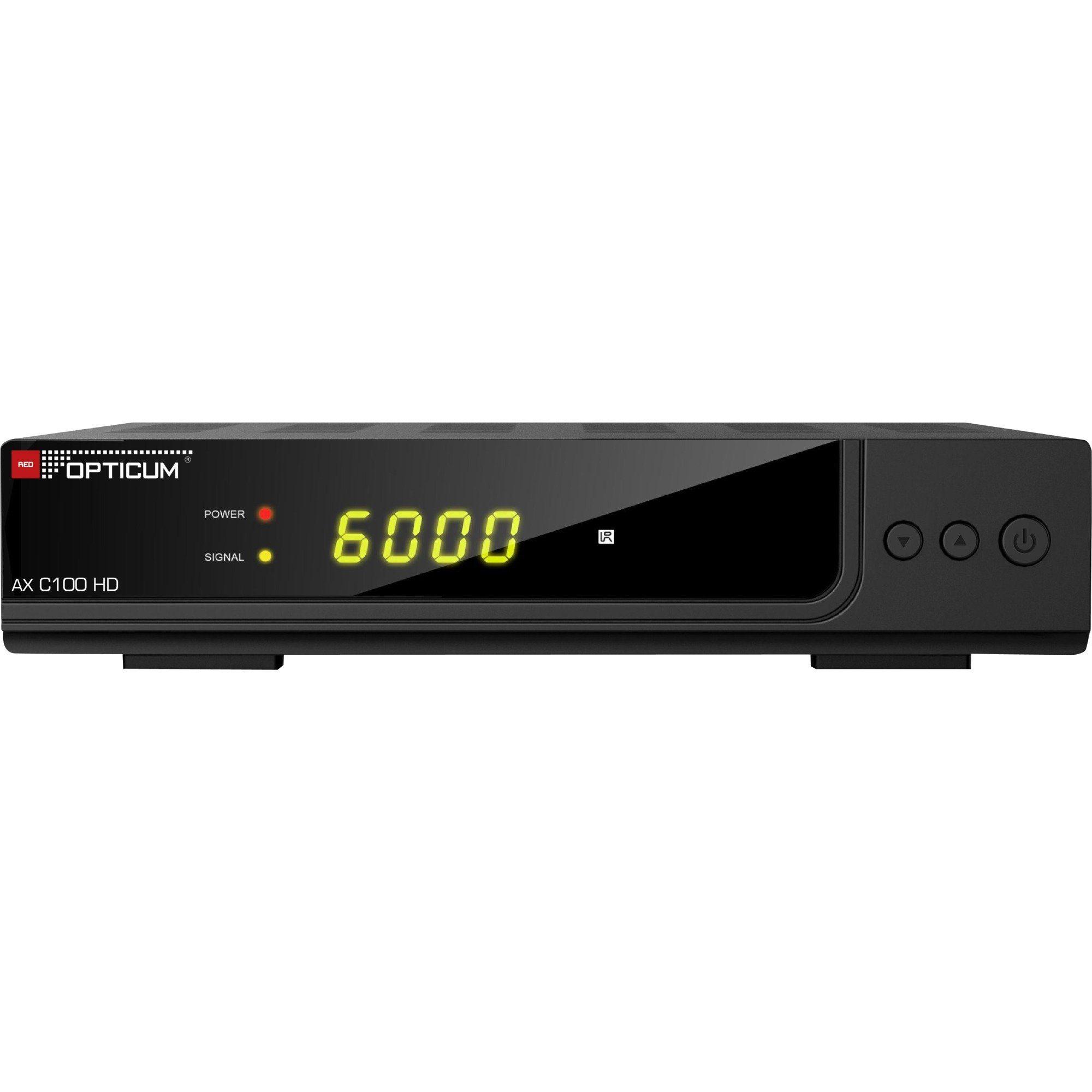 Opticum Red Kabel-Receiver »C100 HD PVR«