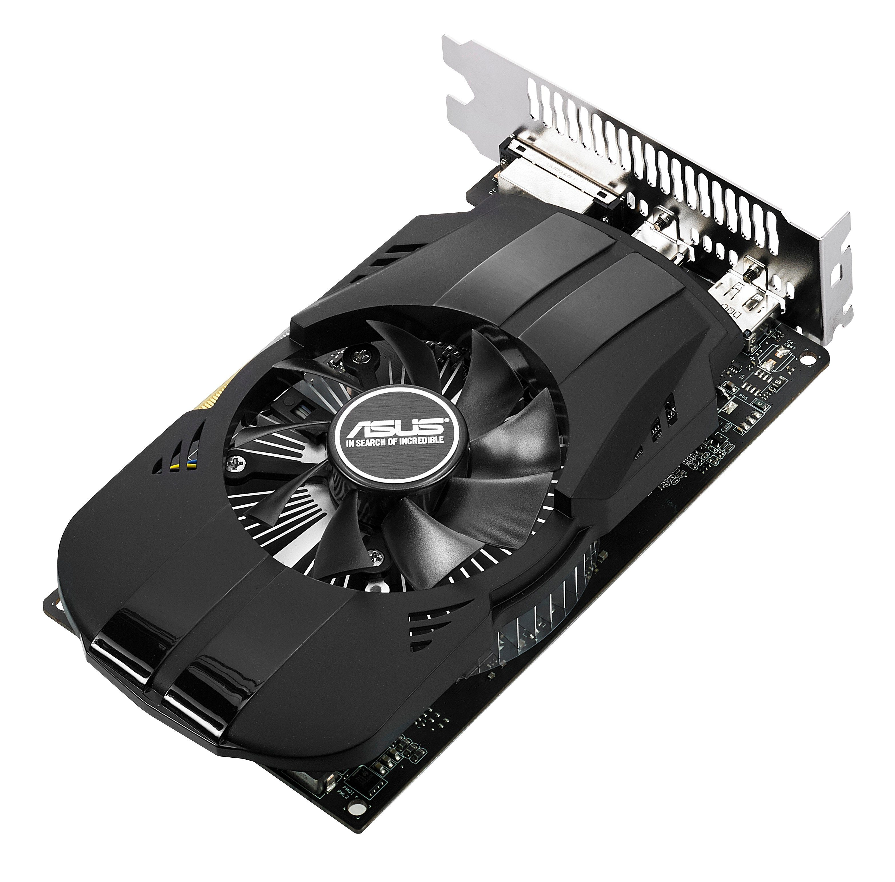 ASUS Grafikkarte NVIDIA GeForce® GTX 1050 2GB »PH-GTX1050-2G«