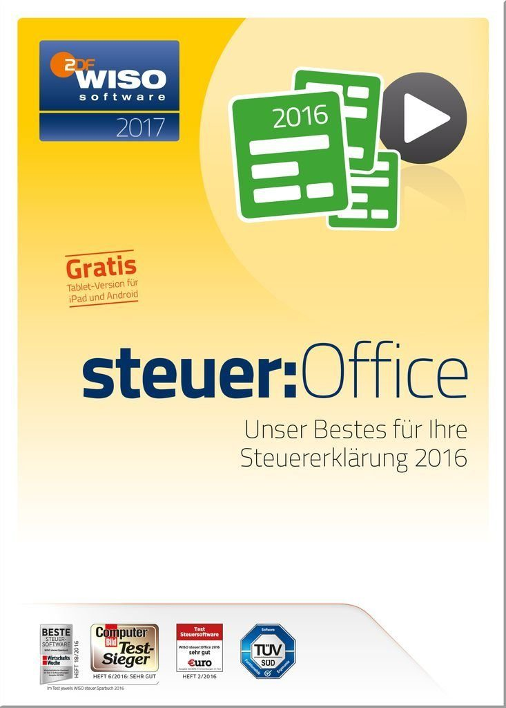 Buhl Data Software »WISO Steuer-Office 2017«