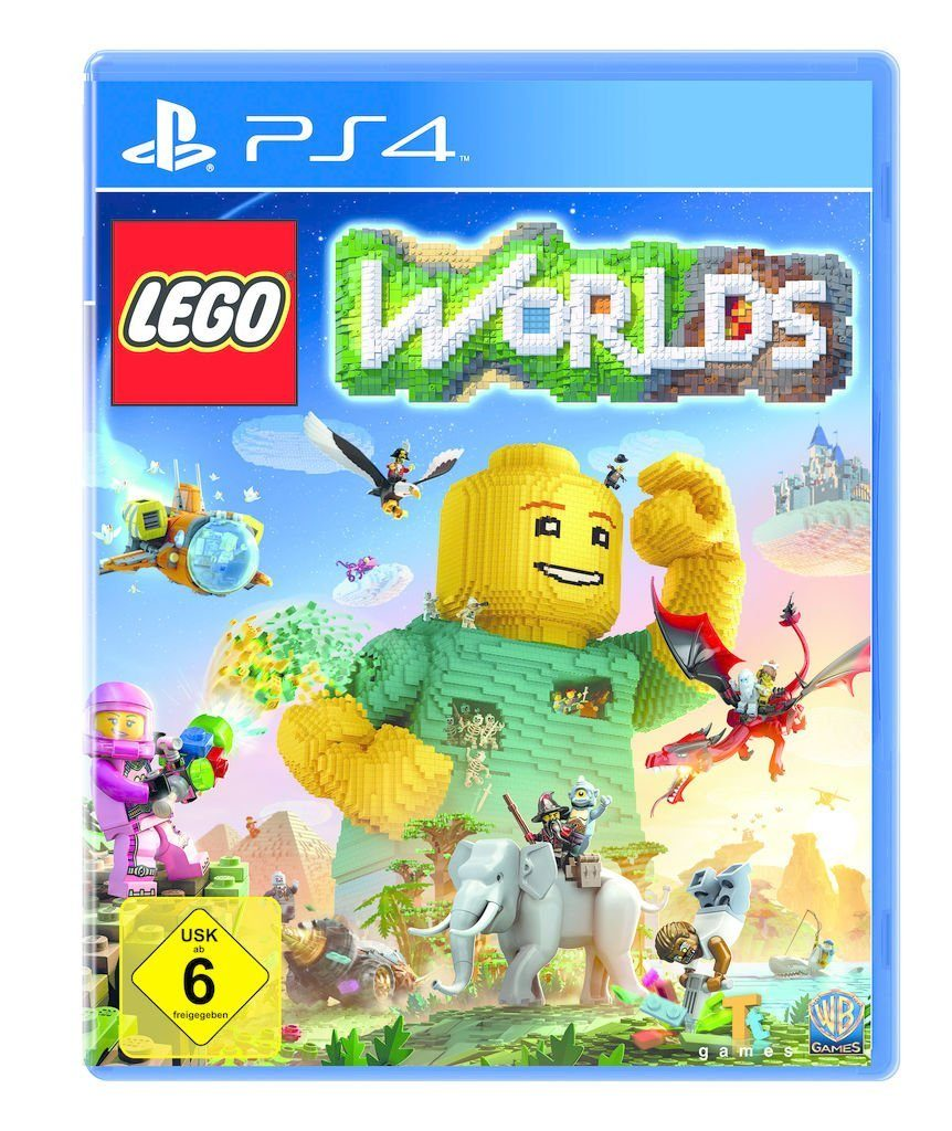 Warner Games Playstation 4 - Spiel »LEGO Worlds«