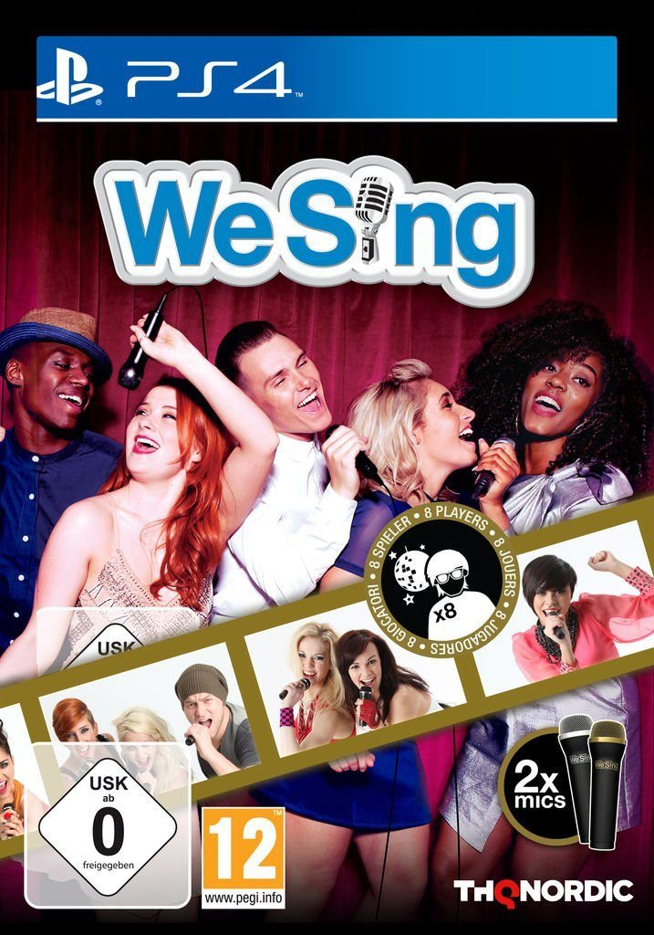 THQ Nordic Playstation 4 - Spiel »We Sing (inkl. 2 Mikrofonen)«