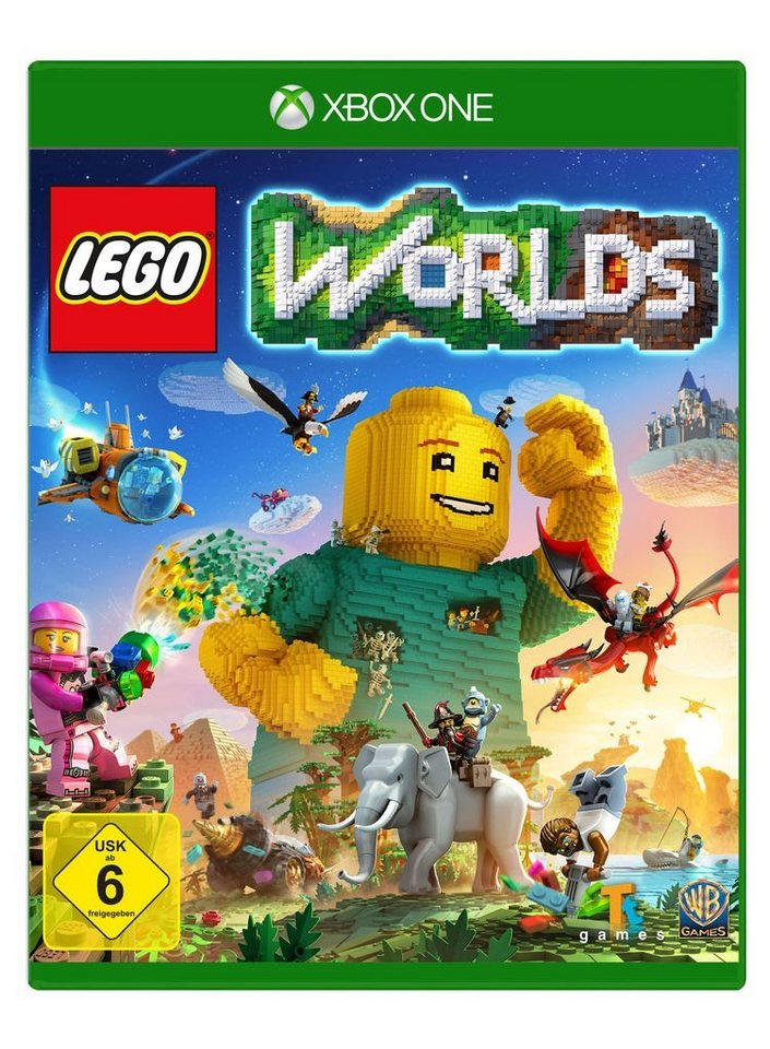 warner games xbox one spiel lego worlds kaufen otto. Black Bedroom Furniture Sets. Home Design Ideas