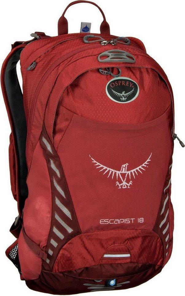 Osprey Escapist 18 M/L in Cayenne Red