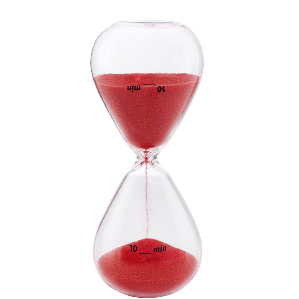 BUTLERS 10 MINUTES »Sanduhr 10 Minuten« in rot