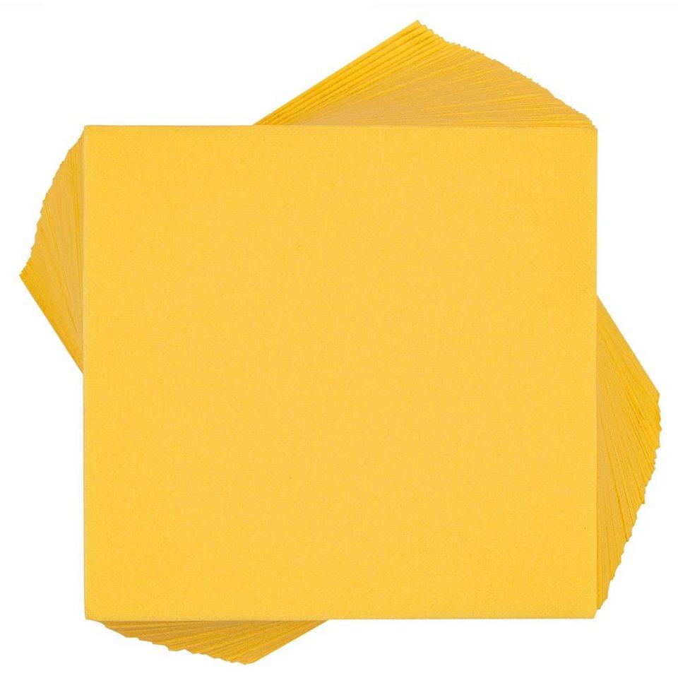 BUTLERS APRÉS »Papierservietten« in gelb