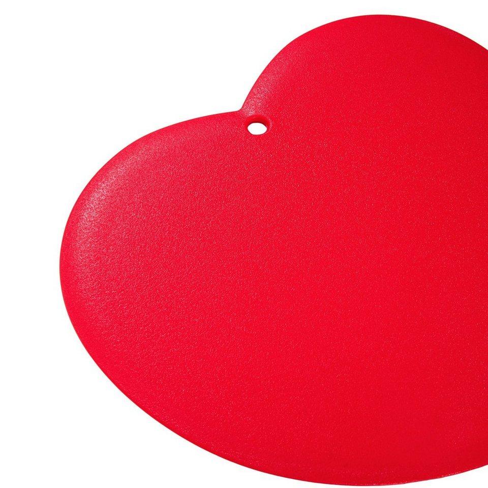 BUTLERS DIRECTOR?S CUT »Schneidebrett Herz« in rot