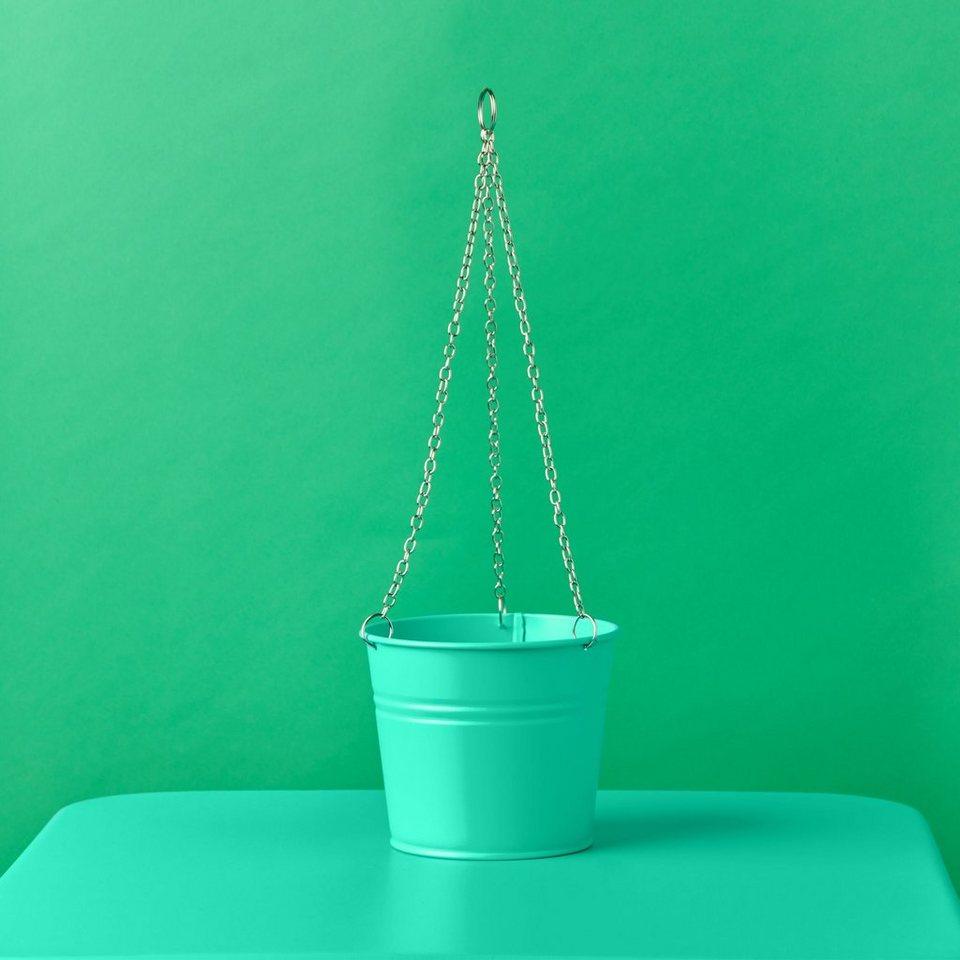 BUTLERS ZINC »Pflanzenampel klein« in mint