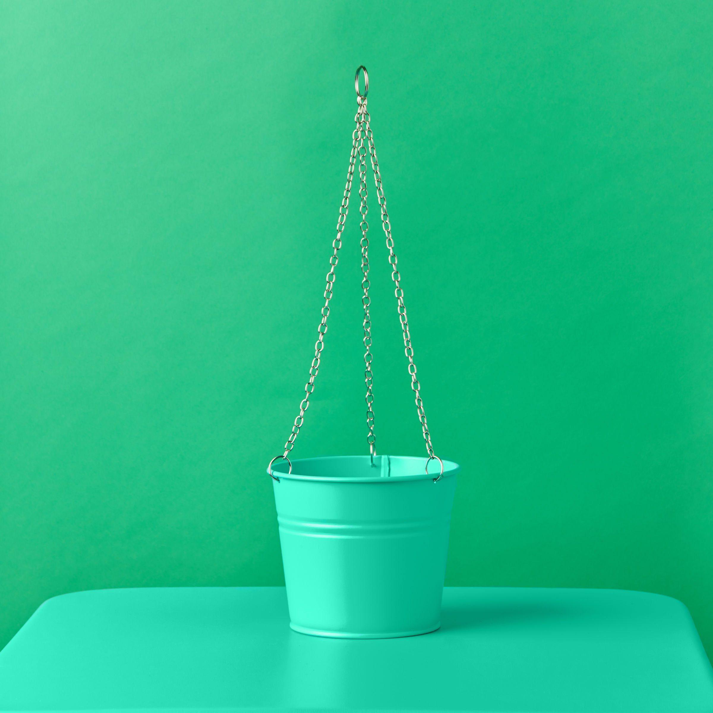 BUTLERS ZINC »Pflanzenampel klein«