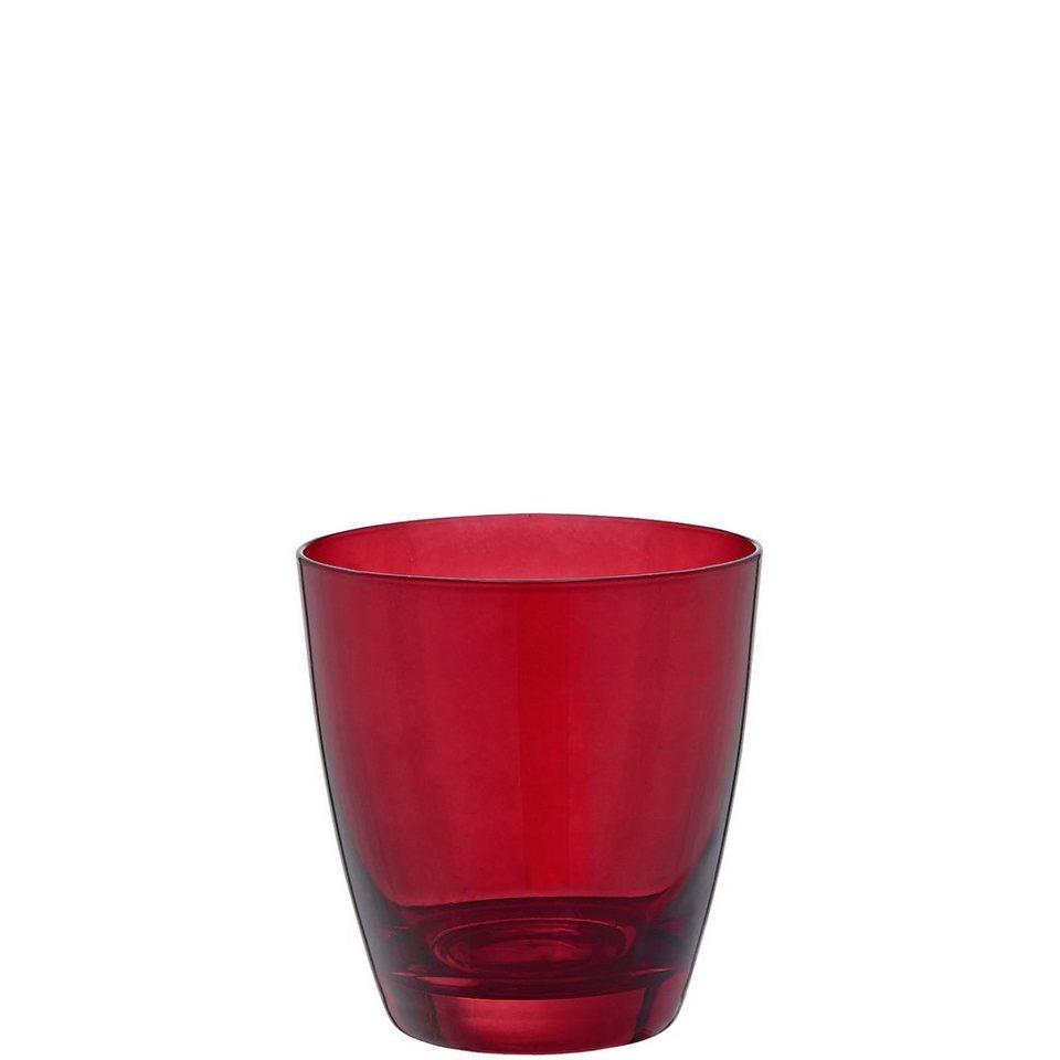 BUTLERS RUBIN »Trinkglas« in rot