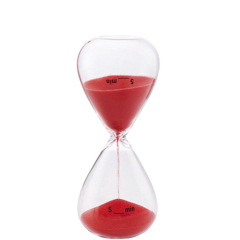 BUTLERS 5 MINUTES »Sanduhr 5 Minuten« in rot