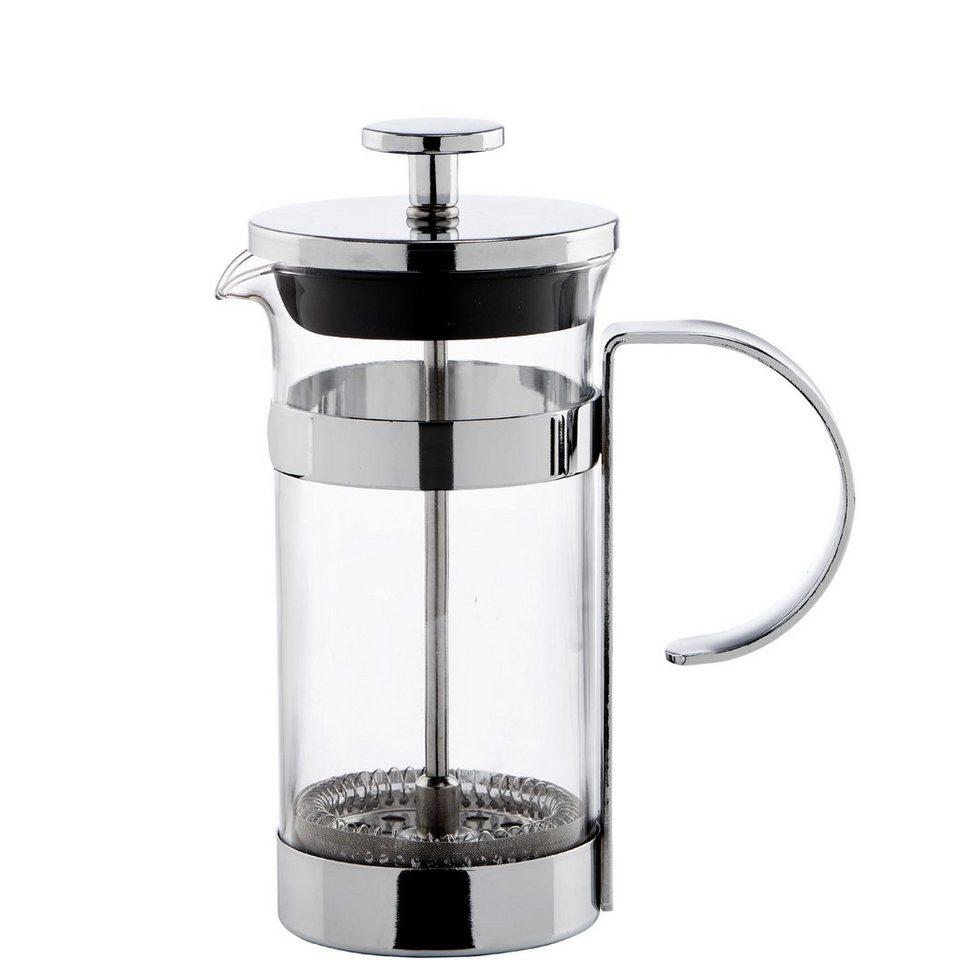 BUTLERS BLACK BEAUTY »Kaffee-/Tee Zubereiter für 2 Tassen« in Silber