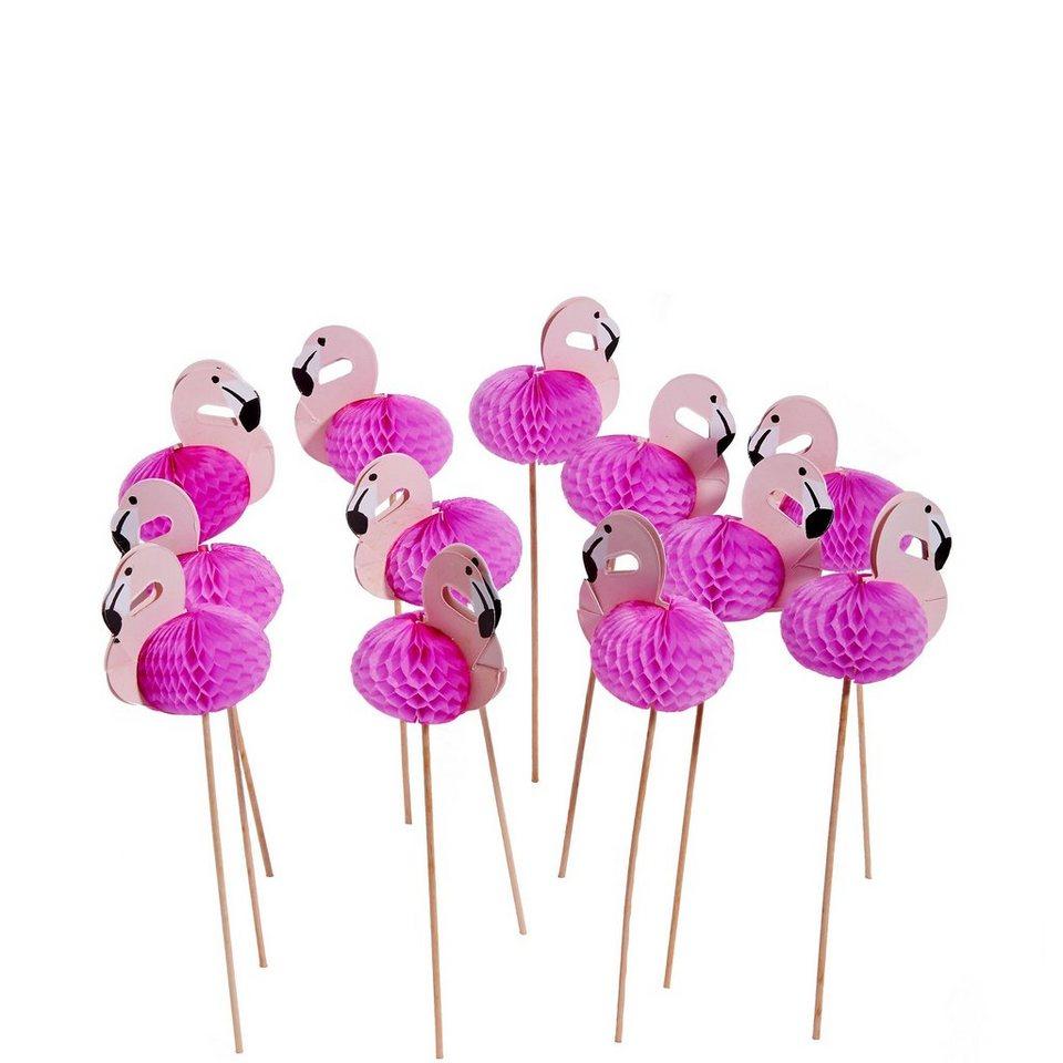 BUTLERS FLAMINGO »Cocktail Dekoration« in rosa