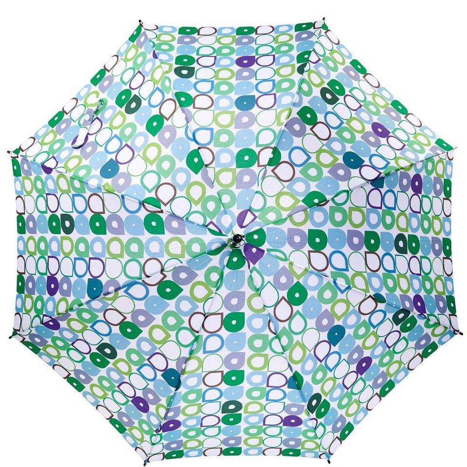 BUTLERS BODYGUARD »Regenschirm Tropfen« in blau