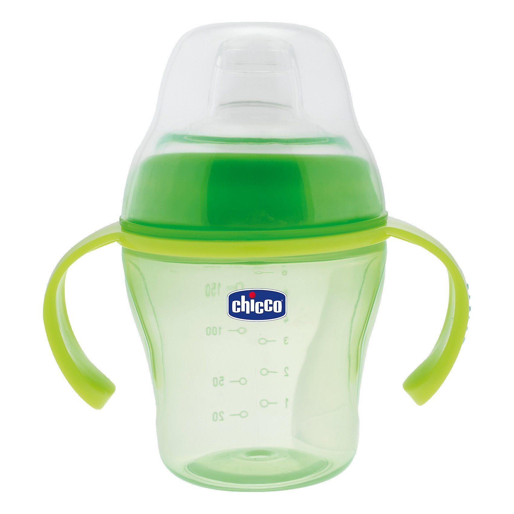 Chicco Trinklernflasche, 200 ml, grün