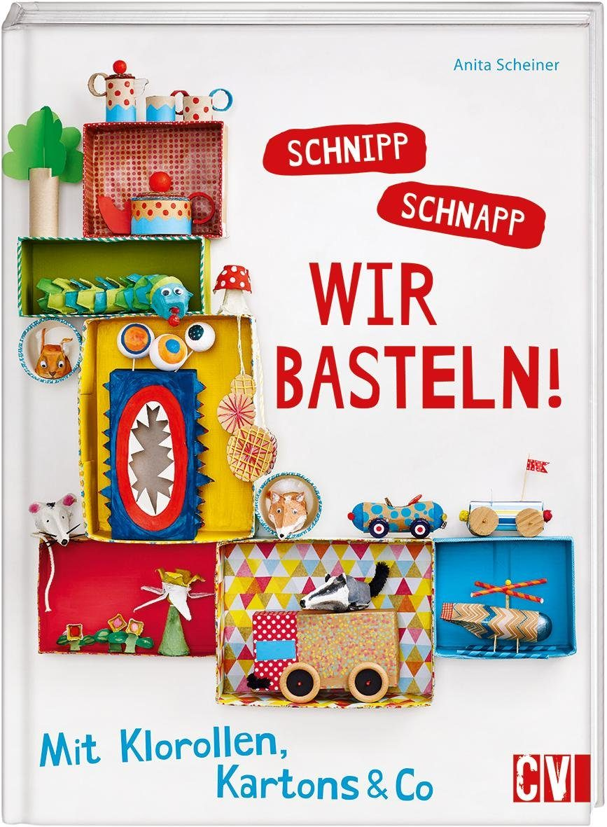 """Buch """"Schnipp Schnapp -wir basteln"""" 80 Seiten"""