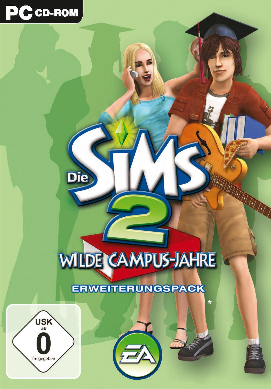 Electronic Arts Software Pyramide - PC Spiel »Die Sims 2: Wilde Campus-Jahre Erweiterungspack«