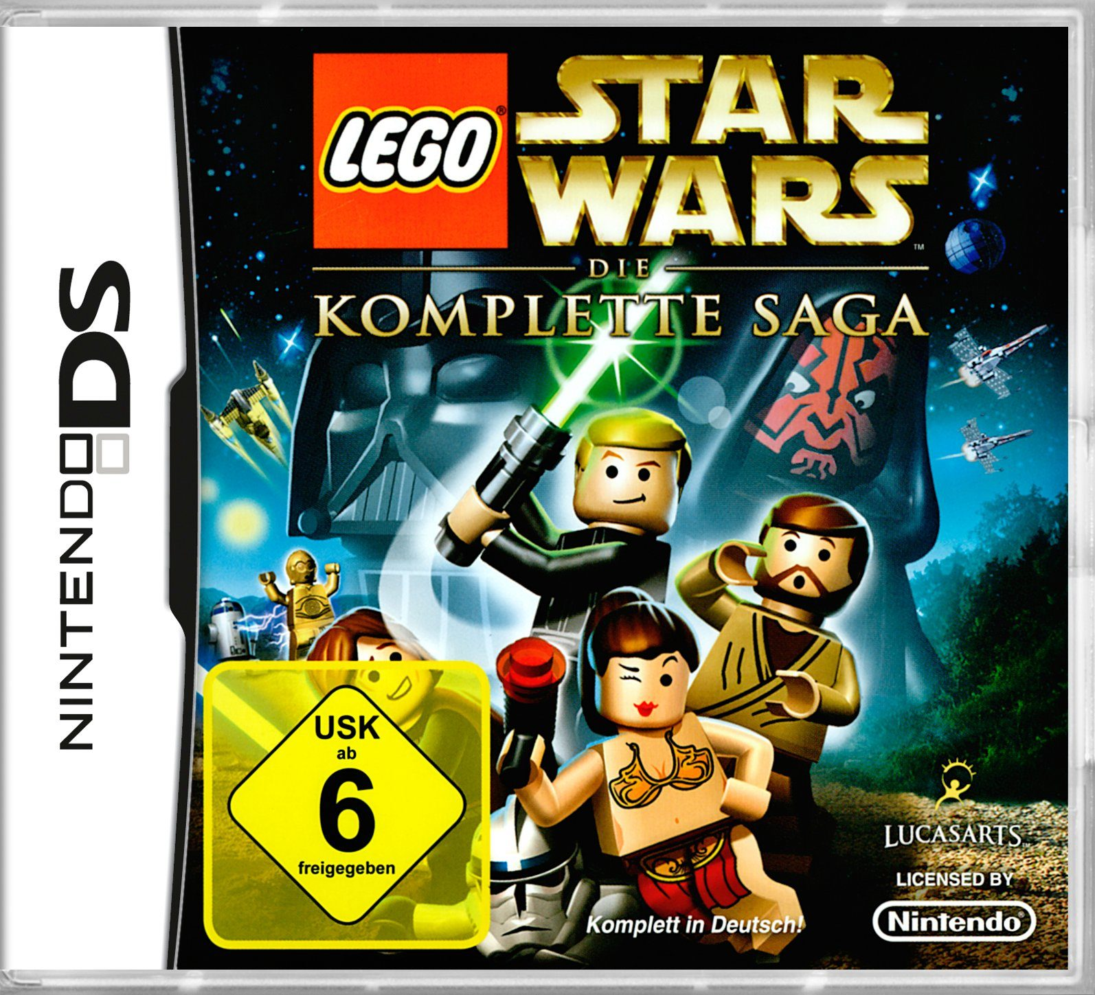 DISNEY Software Pyramide - Nintendo DS Spiel »LEGO Star Wars: Die komplette Saga«