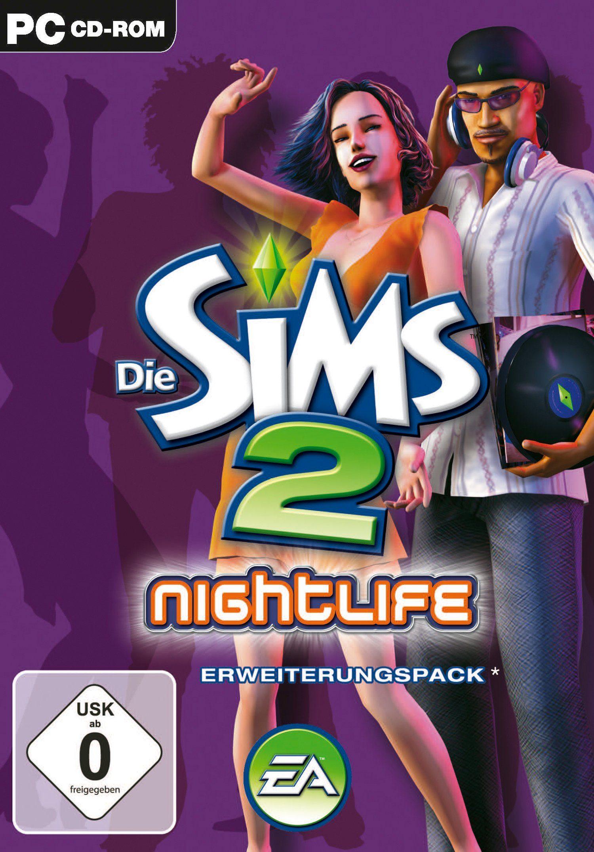 Electronic Arts Software Pyramide - PC Spiel »Die Sims 2: Nightlife Erweiterungspack«