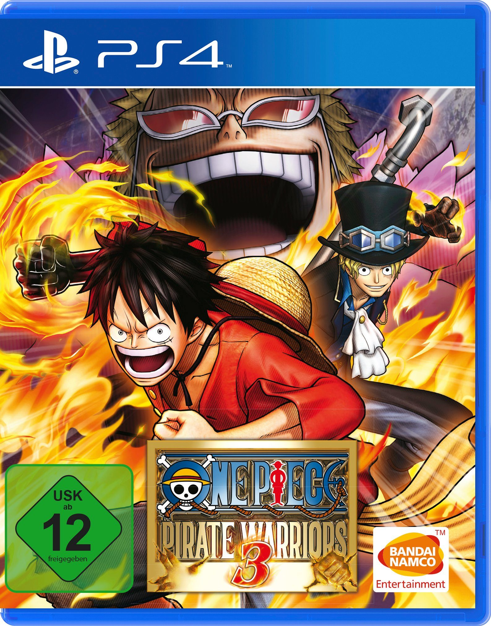 BANDAI NAMCO Software Pyramide - Playstation 4 Spiel »One Piece Pirate Warriors 3«