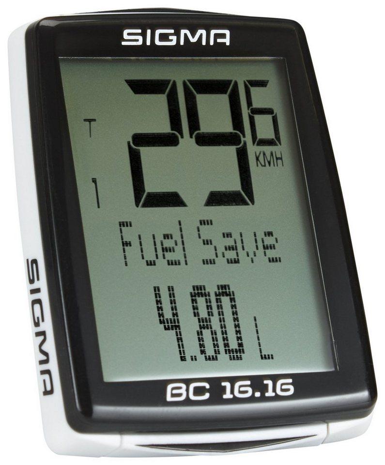Sigma Sport Fahrradcomputer »BC 16.16 Fahrradcomputer kabelgebunden«
