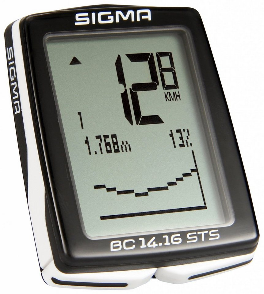 Sigma Sport Fahrradcomputer »BC 14.16 STS Fahrradcomputer kabellos«