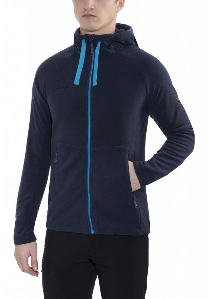 Mammut Outdoorjacke »Yadkin Advanced ML Hooded Jacket Men« in blau