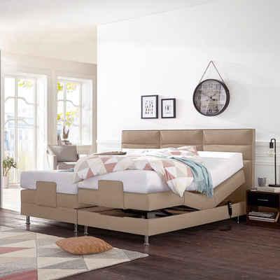 boxspringbett mit bettkasten elektrisch. Black Bedroom Furniture Sets. Home Design Ideas