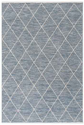 Teppich »Halef«, Home affaire Collection, rechteckig, Höhe 10 mm, Wendeteppich