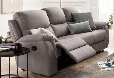 Atlantic Home Collection 3 Sitzer Mit Relaxfunktion Und Federkern