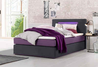 boxspringbett 140 200. Black Bedroom Furniture Sets. Home Design Ideas