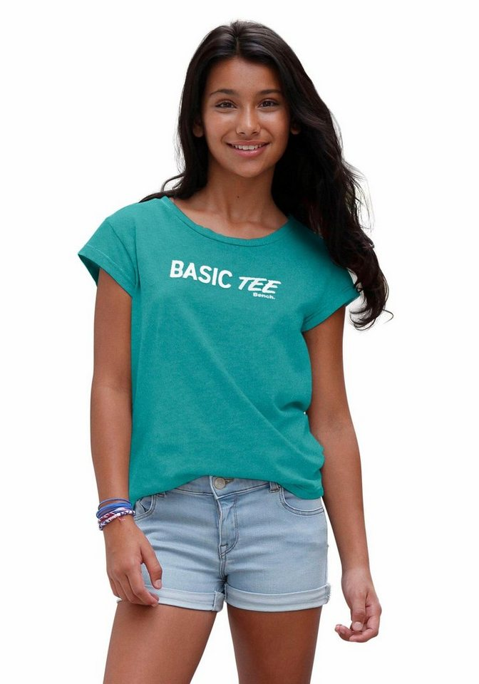 Bench T-Shirt in petrol