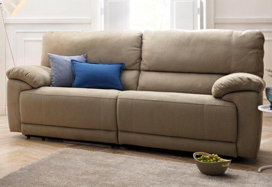 Atlantic home collection 3 sitzer mit relaxfunktion und for 3 sitzer sofa mit relaxfunktion