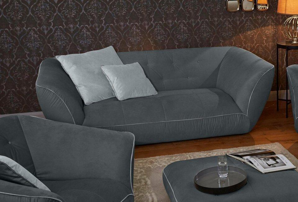 gmk home living megasofa nida inklusive zierkissen online kaufen otto. Black Bedroom Furniture Sets. Home Design Ideas