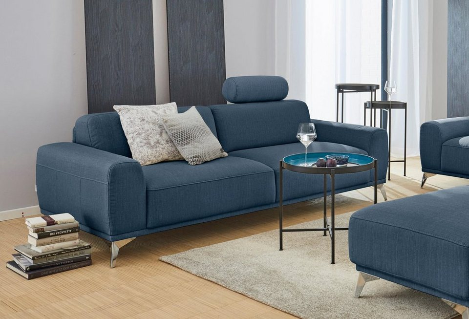 gmk home living 3 sitzer sofa tea mit kopfst tze online kaufen otto. Black Bedroom Furniture Sets. Home Design Ideas