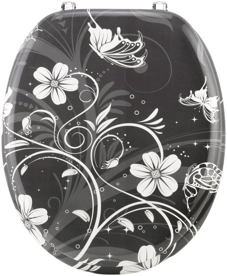 wc sitz white flower online kaufen otto. Black Bedroom Furniture Sets. Home Design Ideas