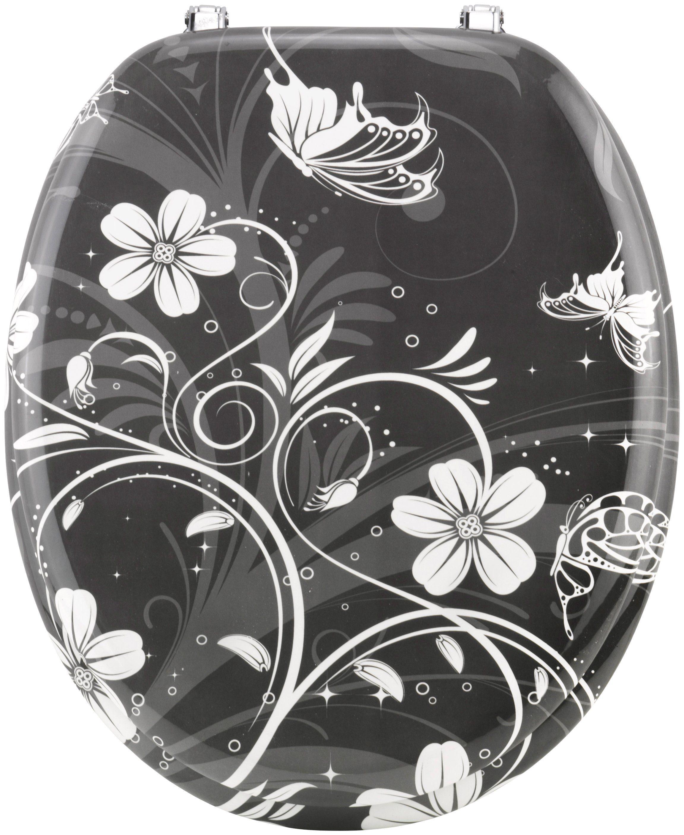 Cornat WC-Sitz »White Flower«
