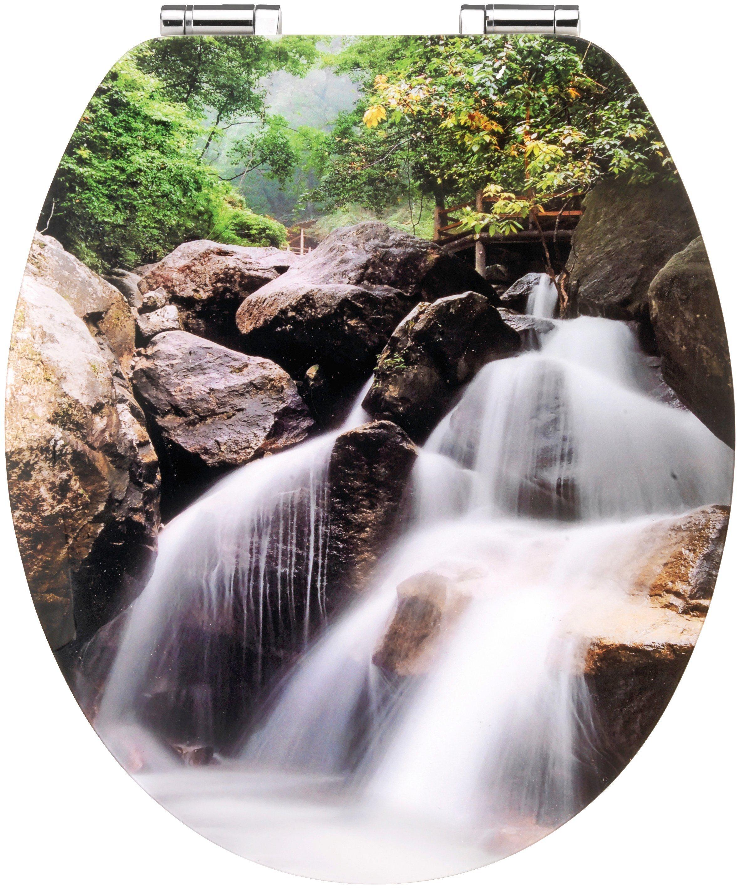 WC-Sitz »Waterfall« Softclose