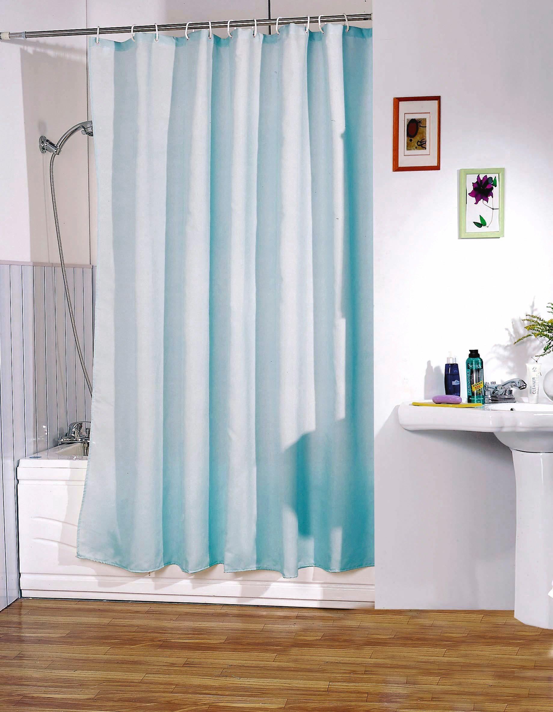 MSV Duschvorhang »Blau«, Breite 180 cm