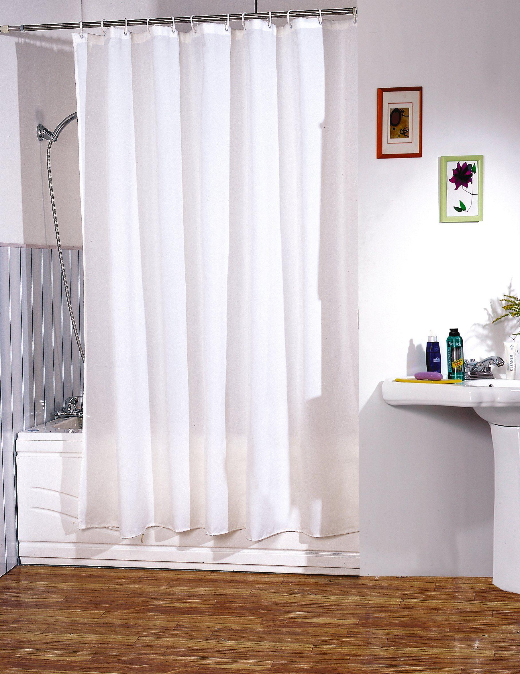 MSV Duschvorhang »Weiß«, Breite 180 cm