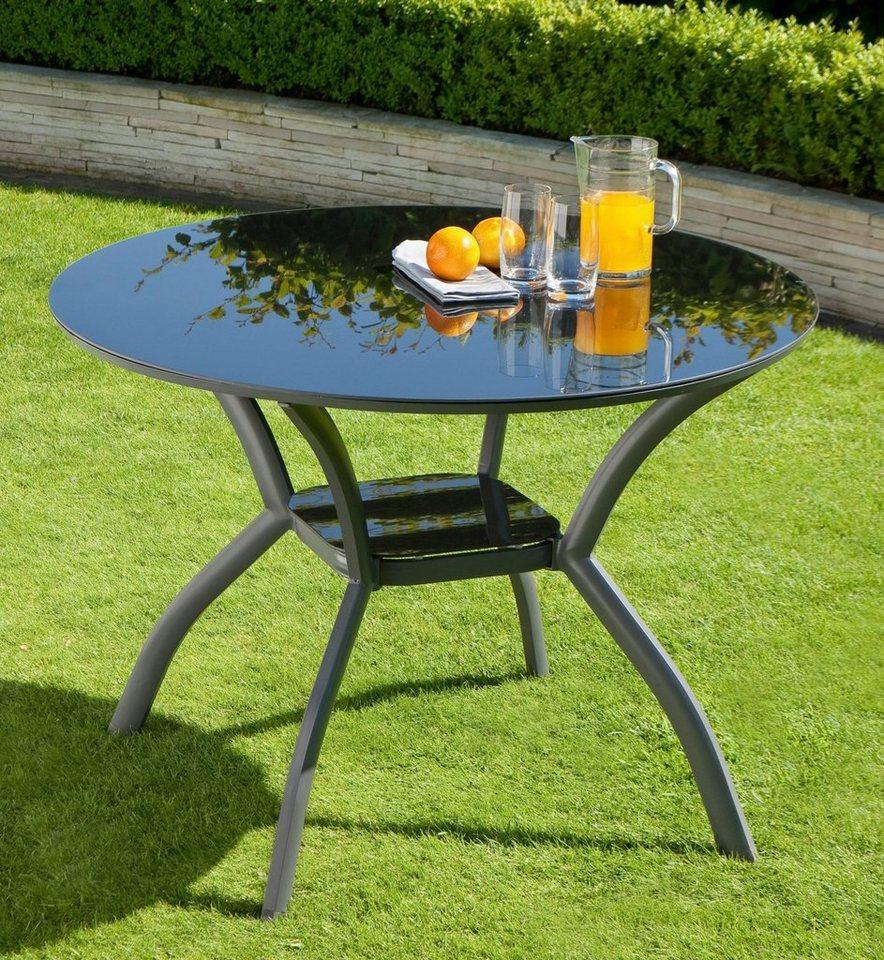 Gartentisch Alu Glas sdatec.com