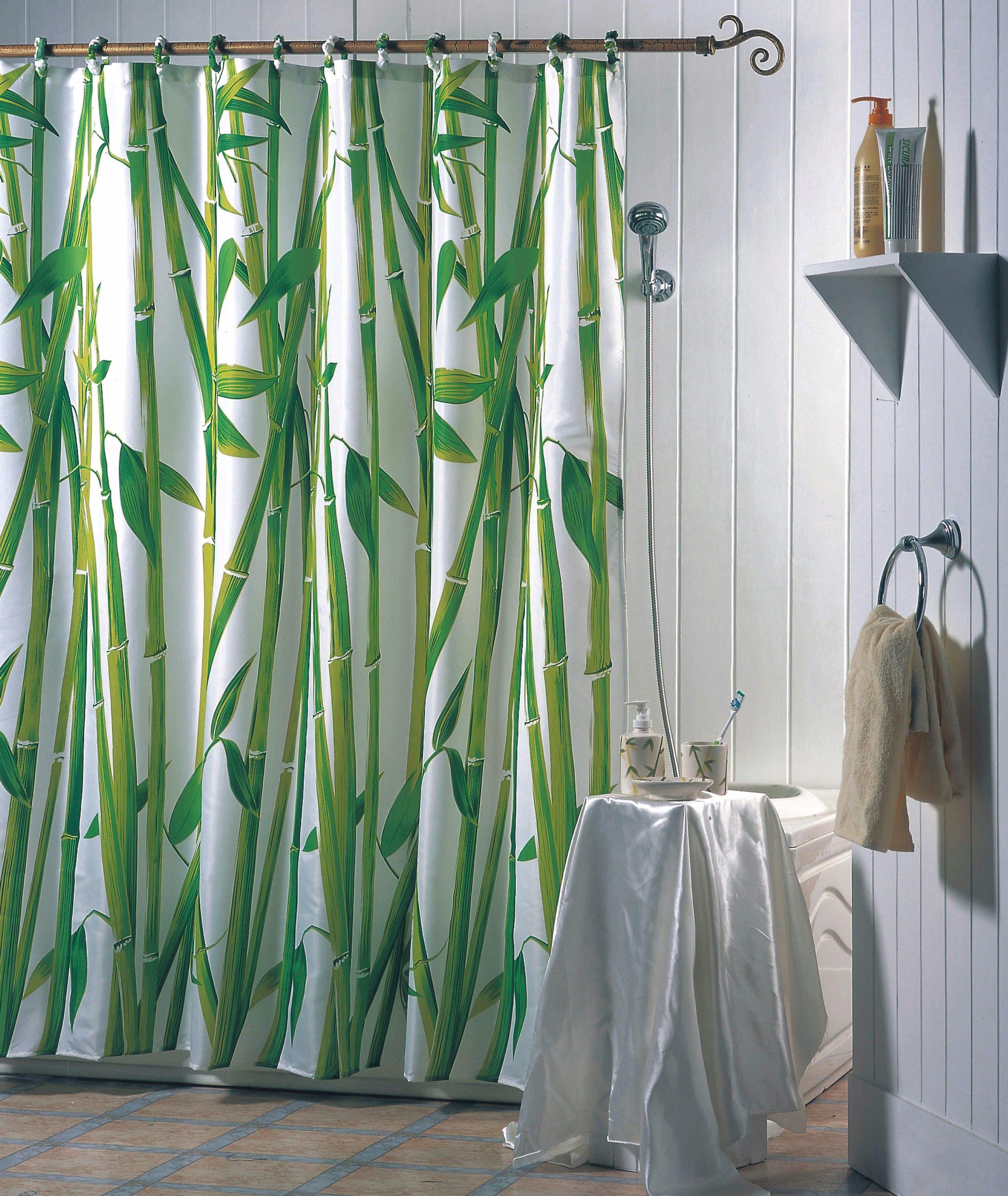 MSV Duschvorhang »Bambus«