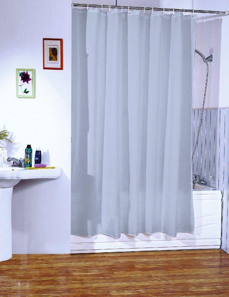 duschvorhang hellgrau online kaufen otto. Black Bedroom Furniture Sets. Home Design Ideas