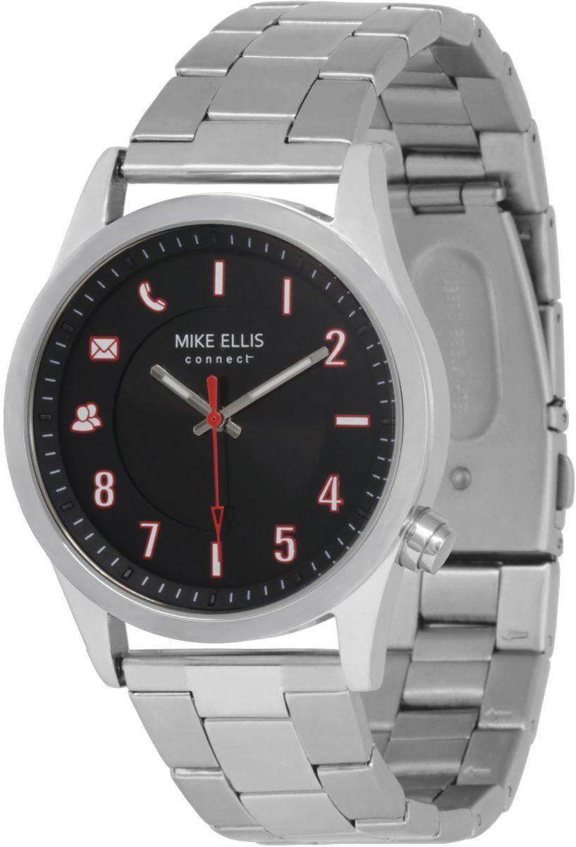 Mike Ellis Connect Smartwatch »Watch Senator Edelstahl, Glieder«