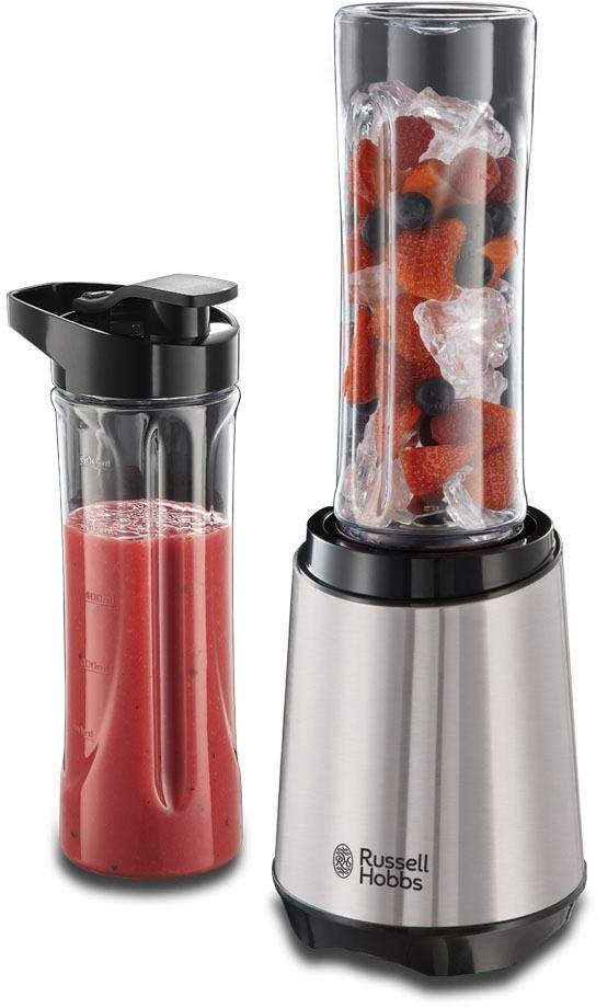 Mixers On The Go ~ Russell hobbs smoothie mixer mix go steel